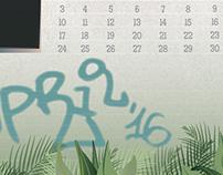 Suburban Wasteland Calendar
