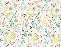 Spring Bloom / Surface Pattern