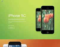 Okhno App Landing page