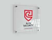 Alfa Security - Rebranding