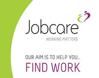 Pull-up banners for 'Jobcare' (2017)