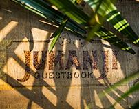 Jumanji Wild Wedding Stationery