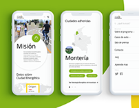 Energy city Columbia UX/UI