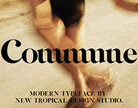 Commune - Modern Serif