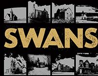 Swans gigposter - Dublin 2015