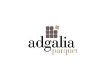 Adgalia, logo e website.