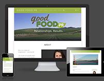 Good Food PR Wordpress Site