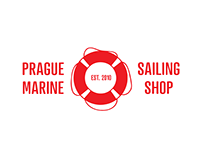 Prague Marine Shop — corporate identity
