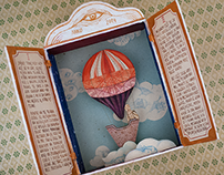 Flying Balloon and Secrets of Clouds - object / artbook