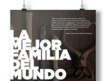 La Mejor Familia Del Mundo: Print Design