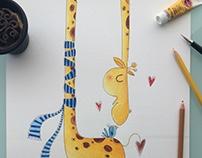 A girafa que amava um passarinho