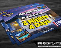 Hard Rock Hotel - Flyer Concept