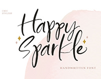 Happy Sparkle - Handwritten Font