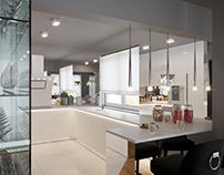3 variants of 1 kitchen