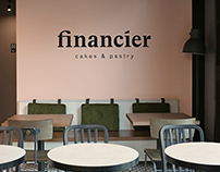 Financier cafe identity