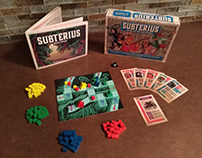Subterius Board Game