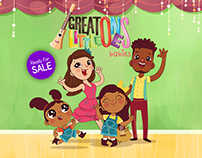 GREAT LITTLE ONES BABIES - 2D Animation, Edutainment