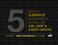 "EastVanDigital ""House 5"" - Various Artists"