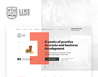 LP — Like center, concept of redesign