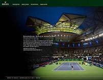 Rolex Tennis Ambassadors Roger Federer - Campaign