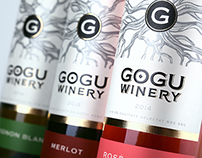 "Wine design ""Gogu Winery"" / Дизайн вина ""Gogu Winery"""