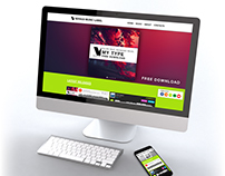 Responsive Music Label Website - Versus Music Label