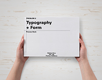 Graphic Design 1: Typography & Form Process book