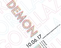 Gorillaz's Demon Dayz Festival Poster