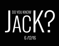 ¿CONOCES A JACK? / DO YOU KNOW JACK?