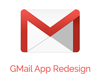 GMail-Mobile app Redesign