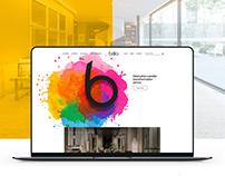 BRILIA Lighting Website Design