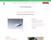 web design client project