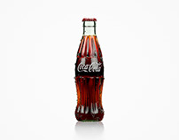 Coca-Cola Photo-realistic 3D visualization