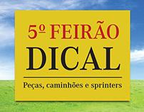 Convite e Faixa para 5º Feirão da Dical