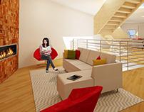 Design 3: A Loft In The City