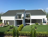 Semi-Terraced House in Möhlin - Switzerland