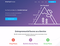 SmartupSherpas Website Design Concept