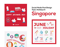 Social Media Holidays Post Design