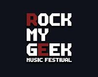 Rock My Geek - Site internet