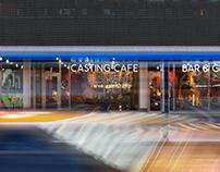 Casting Cafe, interior photography