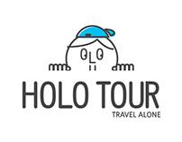 """HOLO TOUR"" Branding"