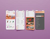 Portchase e-commerce mobile app