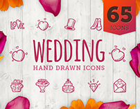 Wedding - Hand Drawn Icons