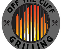 Logo design for Off the Cuff Grilling