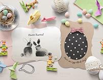 Mini Easter Props & A7 Card Mockups
