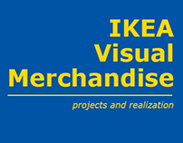 IKEA - Visual merchandise projects