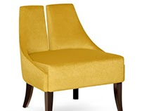 Polaire armchair