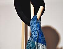 Clothes hanger (MarbleCrete)
