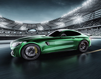Mercedes AMG GT R -The beast of the Green Hell