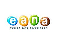 Identité graphique du parc Eana (2006-2009)